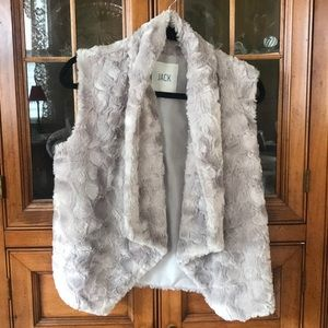 Jackets & Blazers - Jack faux fur vest size medium